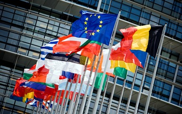 Flag-and-Parliament Europa Study Higher Education